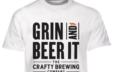 BRAND NEW! 'Grin & Beer It' T-Shirts