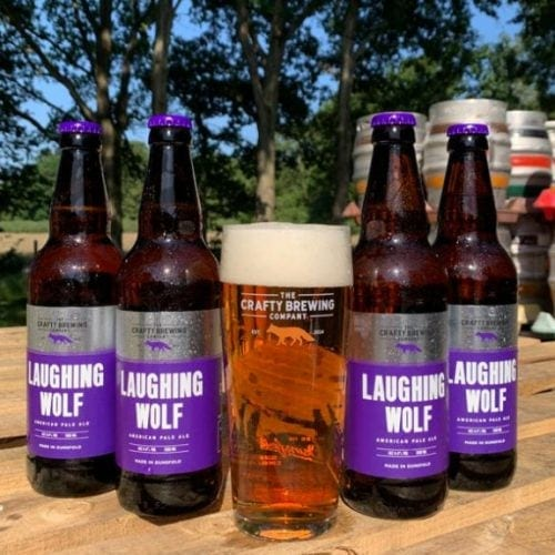 Crafty Brewing Laughing Wolf